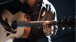 Talent Growth - Playing guitar