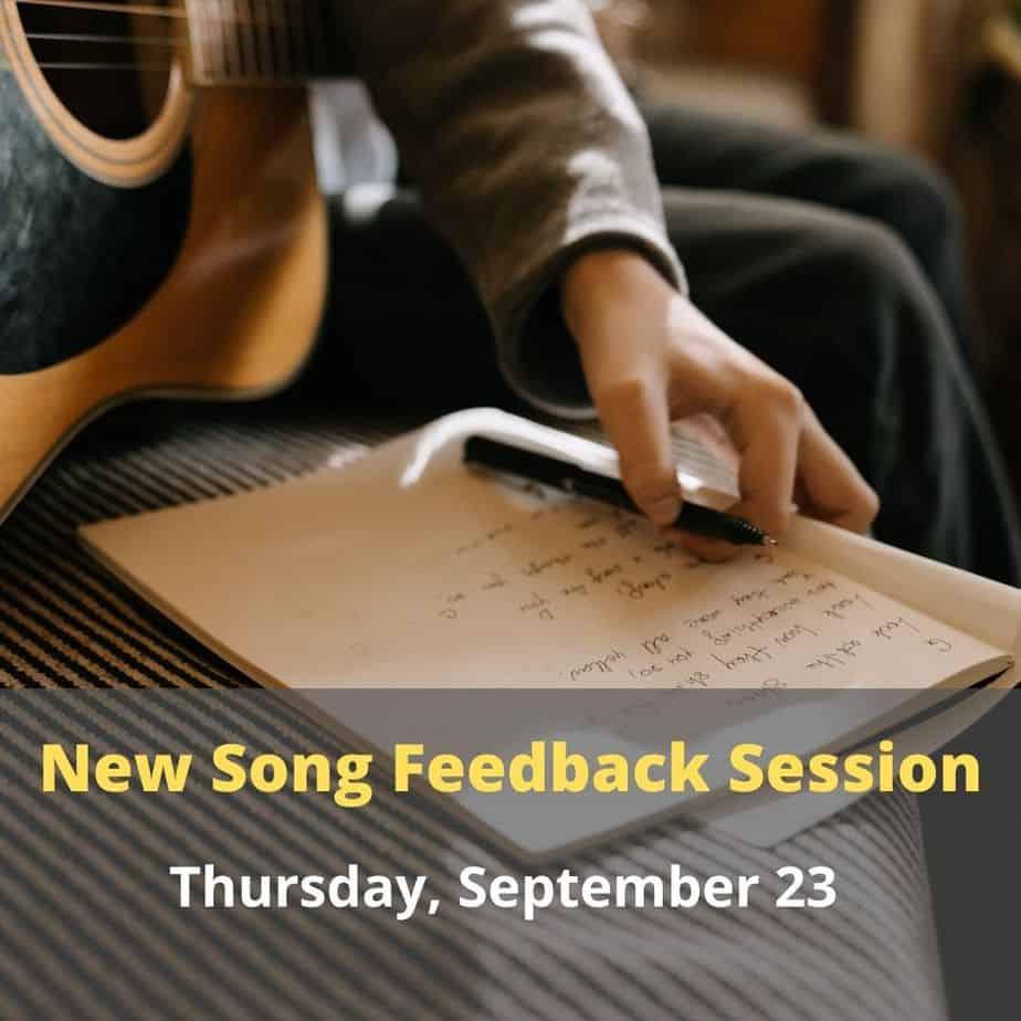 New Song Feedback Session - September 23